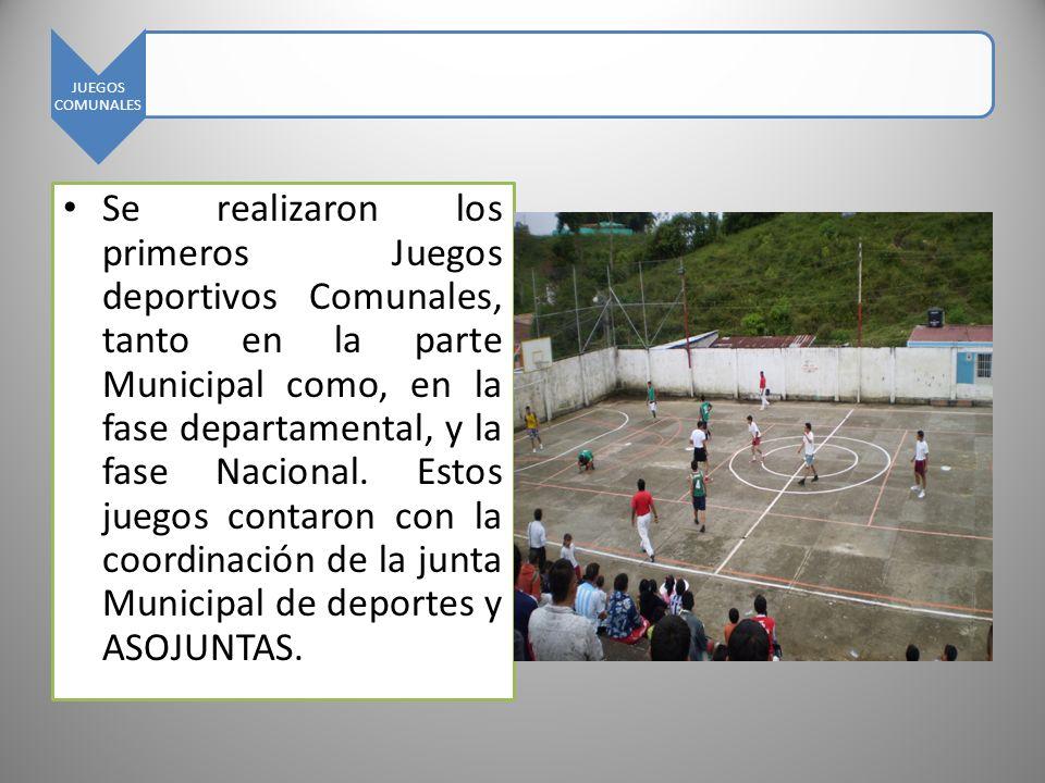 JUEGOS COMUNALES