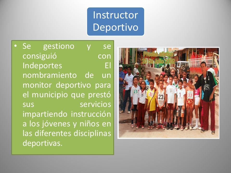 Instructor Deportivo