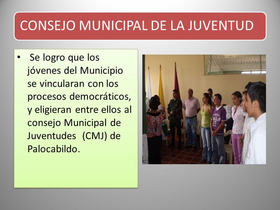 CONSEJO MUNICIPAL DE LA JUVENTUD