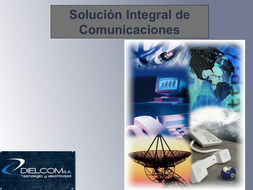 Solución Integral de Comunicaciones
