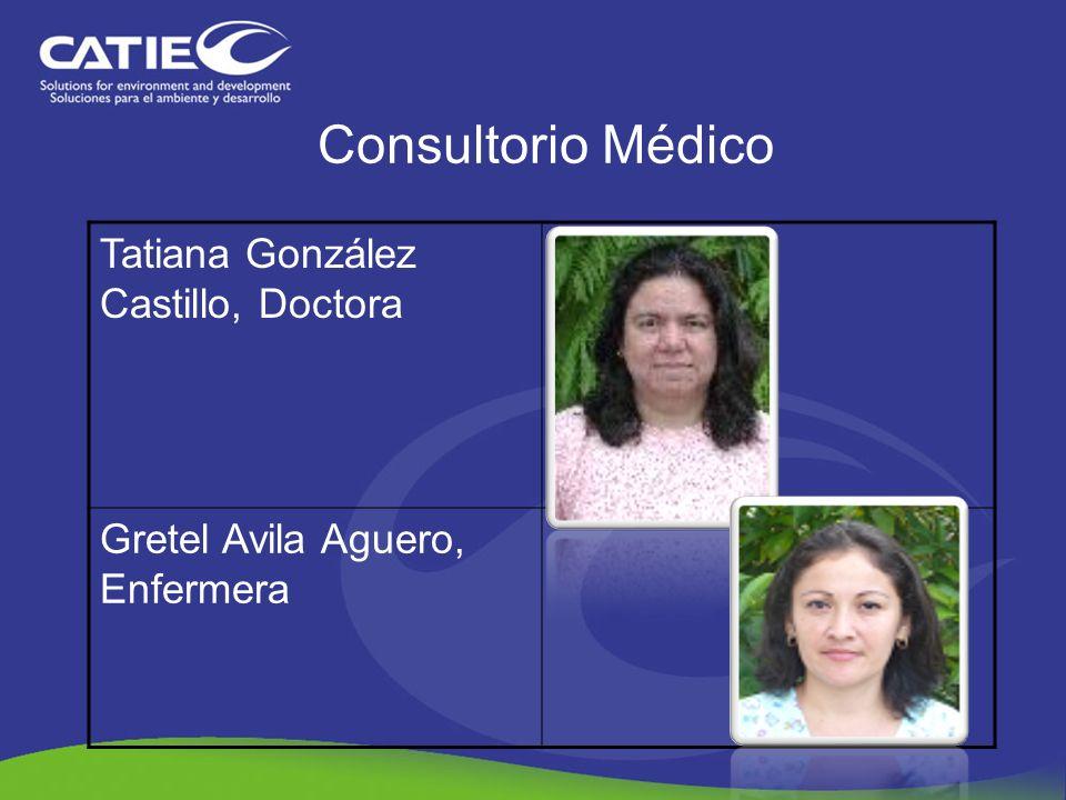 Consultorio Médico Tatiana González Castillo, Doctora