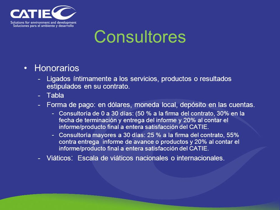 Consultores Honorarios