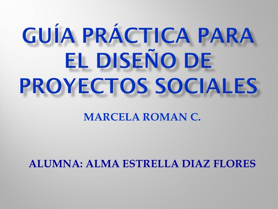 Guía práctica para el diseño de proyectos sociales