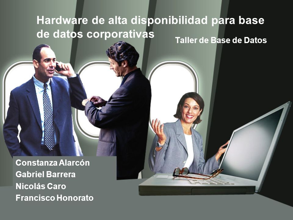Hardware de alta disponibilidad para base de datos corporativas