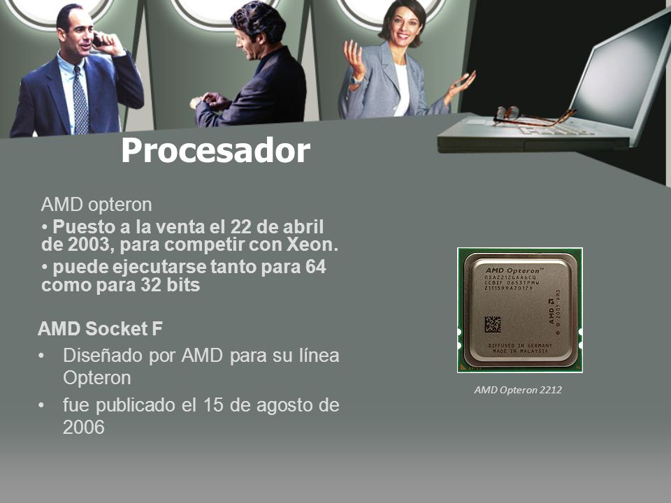 Procesador AMD opteron