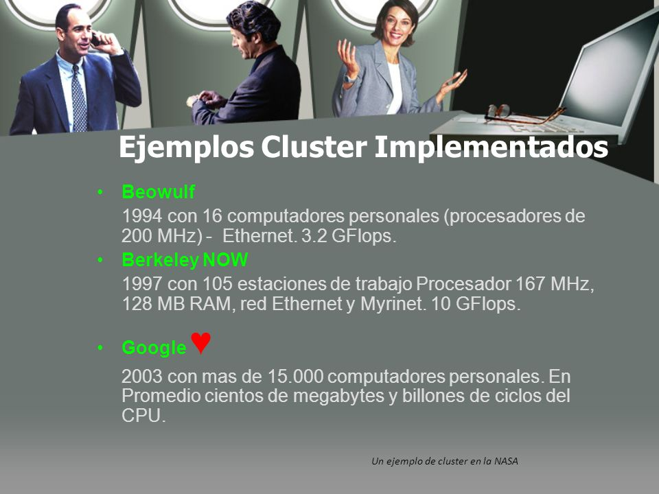 Ejemplos Cluster Implementados