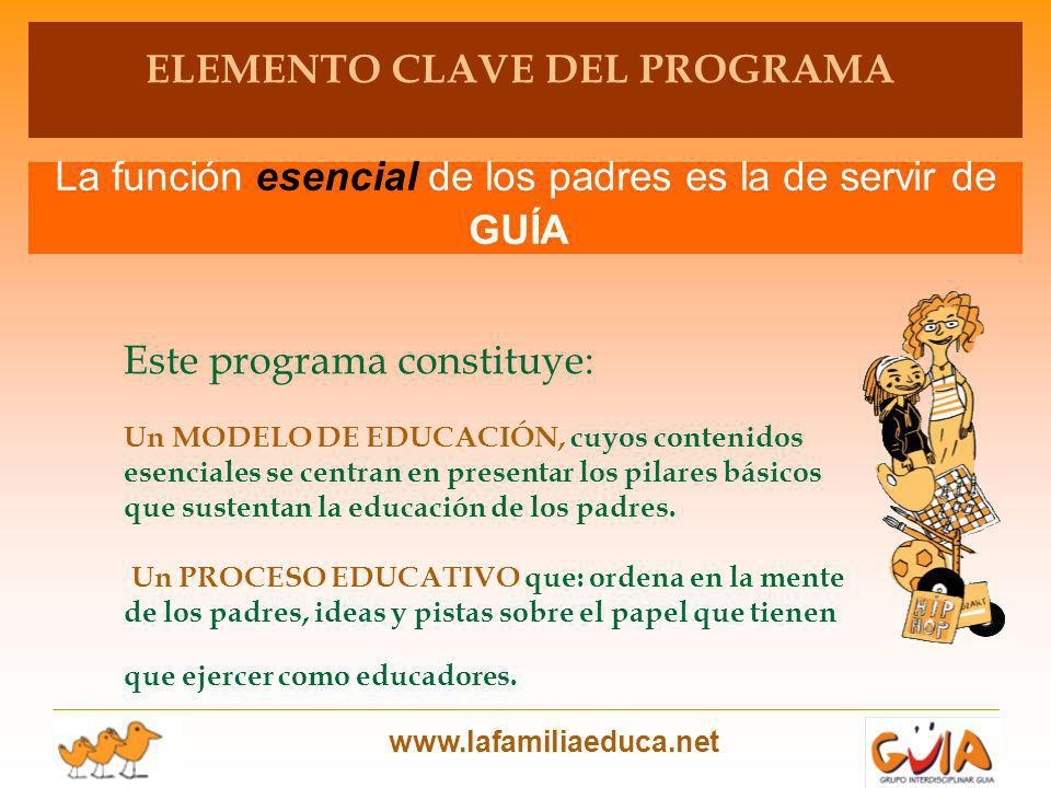 ELEMENTO CLAVE DEL PROGRAMA