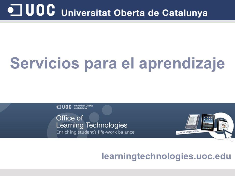 Servicios para el aprendizaje