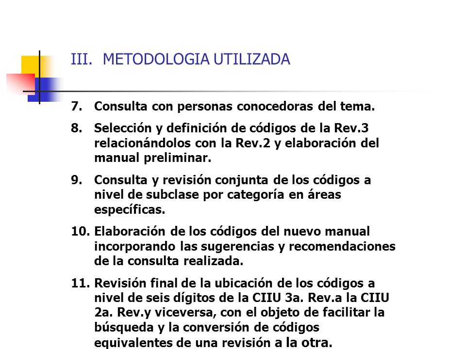 III. METODOLOGIA UTILIZADA