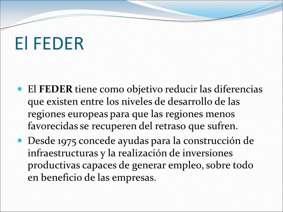 El FEDER
