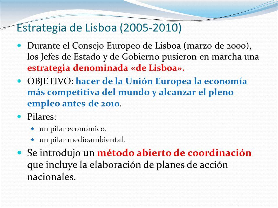 Estrategia de Lisboa (2005-2010)