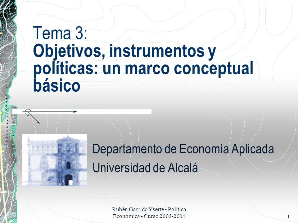 Departamento de Economía Aplicada Universidad de Alcalá
