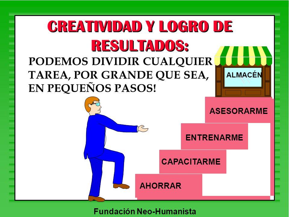 CREATIVIDAD Y LOGRO DE RESULTADOS: