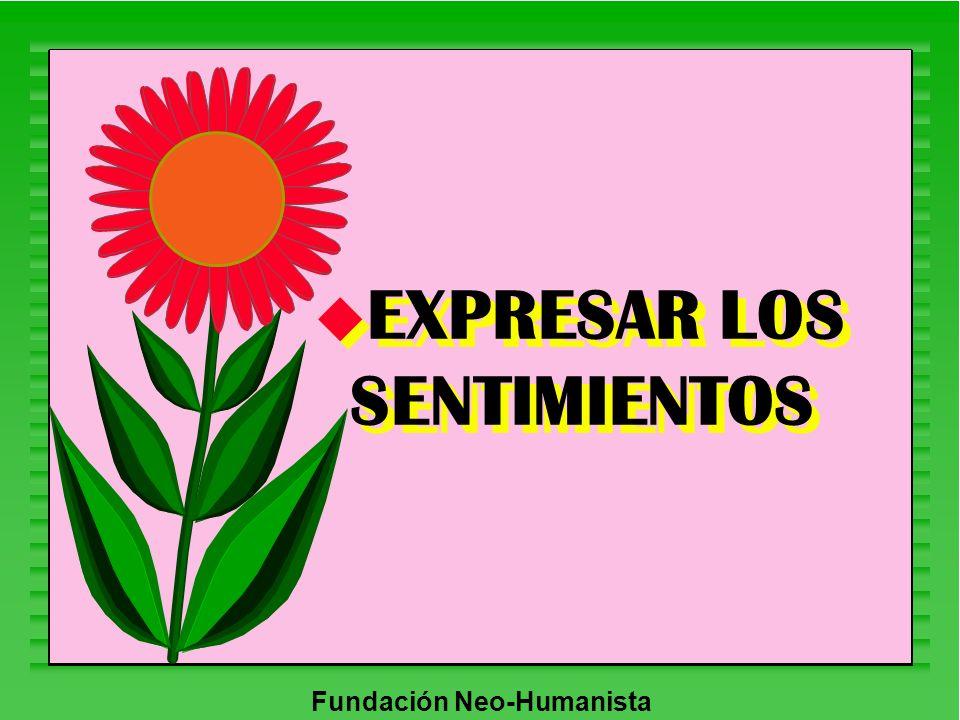 EXPRESAR LOS SENTIMIENTOS