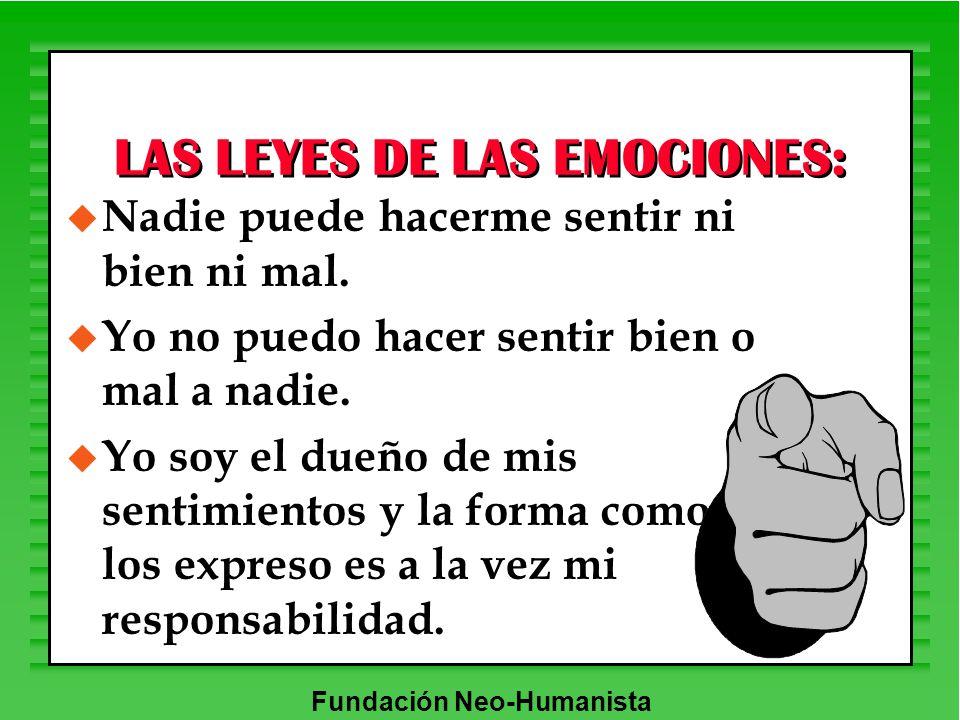 LAS LEYES DE LAS EMOCIONES: