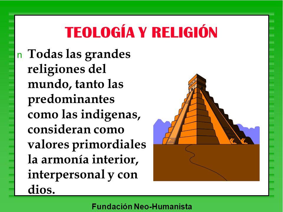 TEOLOGÍA Y RELIGIÓN