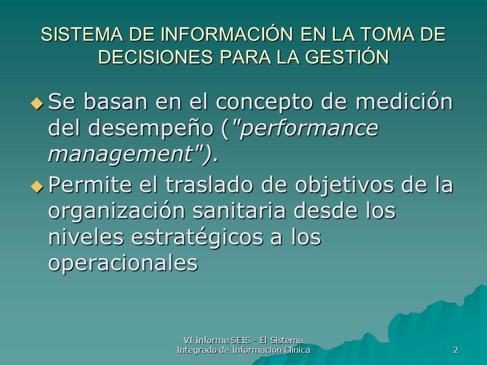 SISTEMA DE INFORMACIÓN EN LA TOMA DE DECISIONES PARA LA GESTIÓN