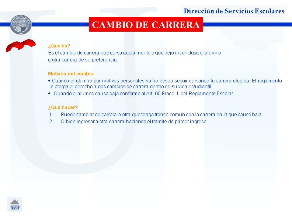 Dirección de Servicios Escolares