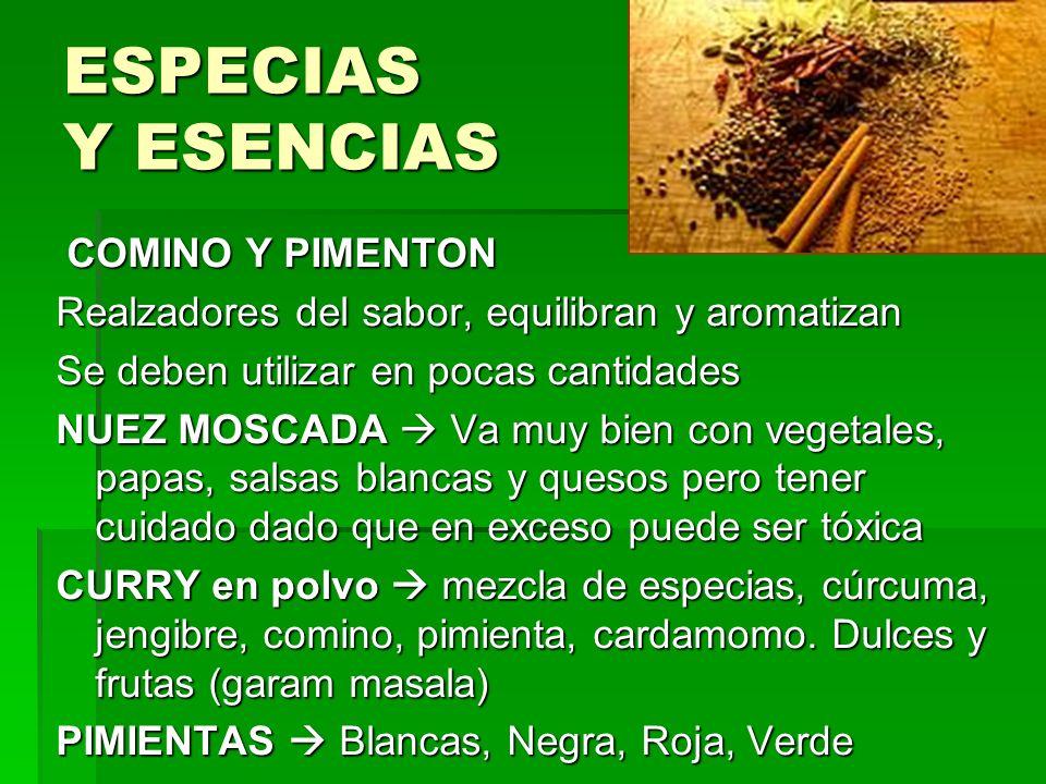 ESPECIAS Y ESENCIAS COMINO Y PIMENTON