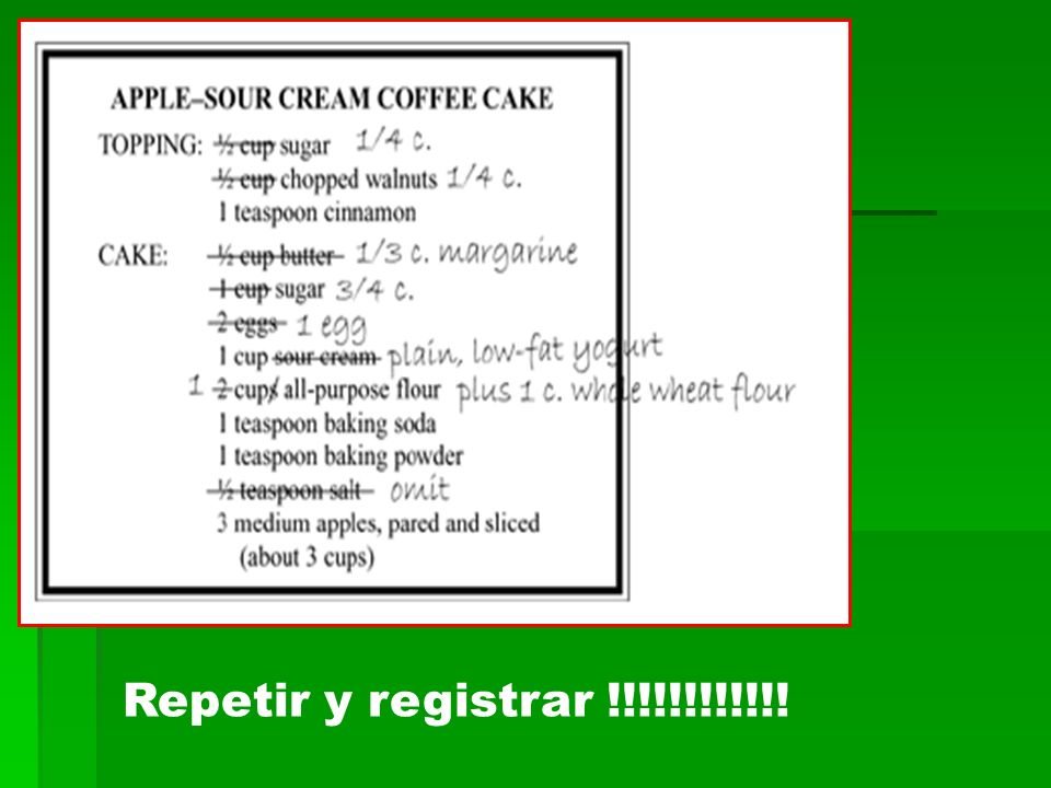 Repetir y registrar !!!!!!!!!!!!