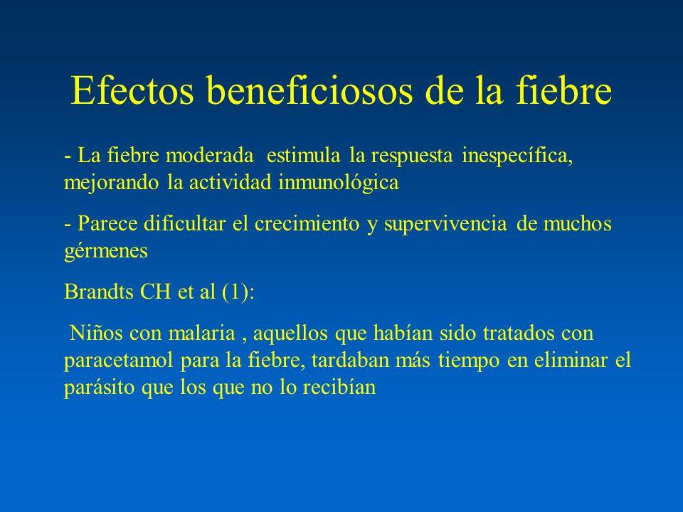 Efectos beneficiosos de la fiebre