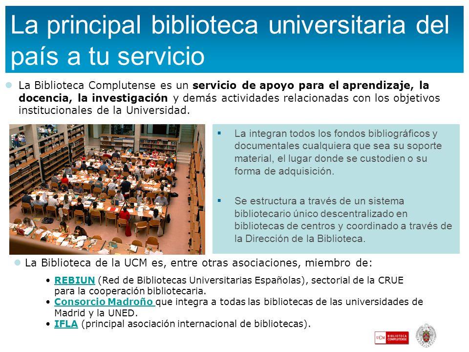 La principal biblioteca universitaria del país a tu servicio