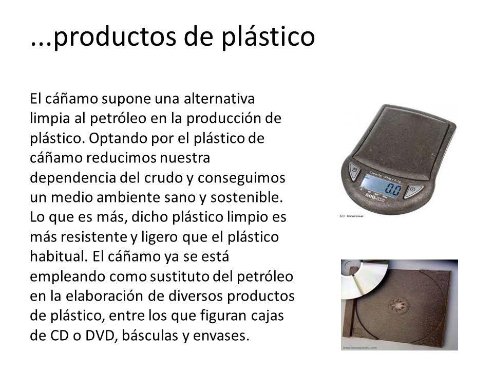 ...productos de plástico