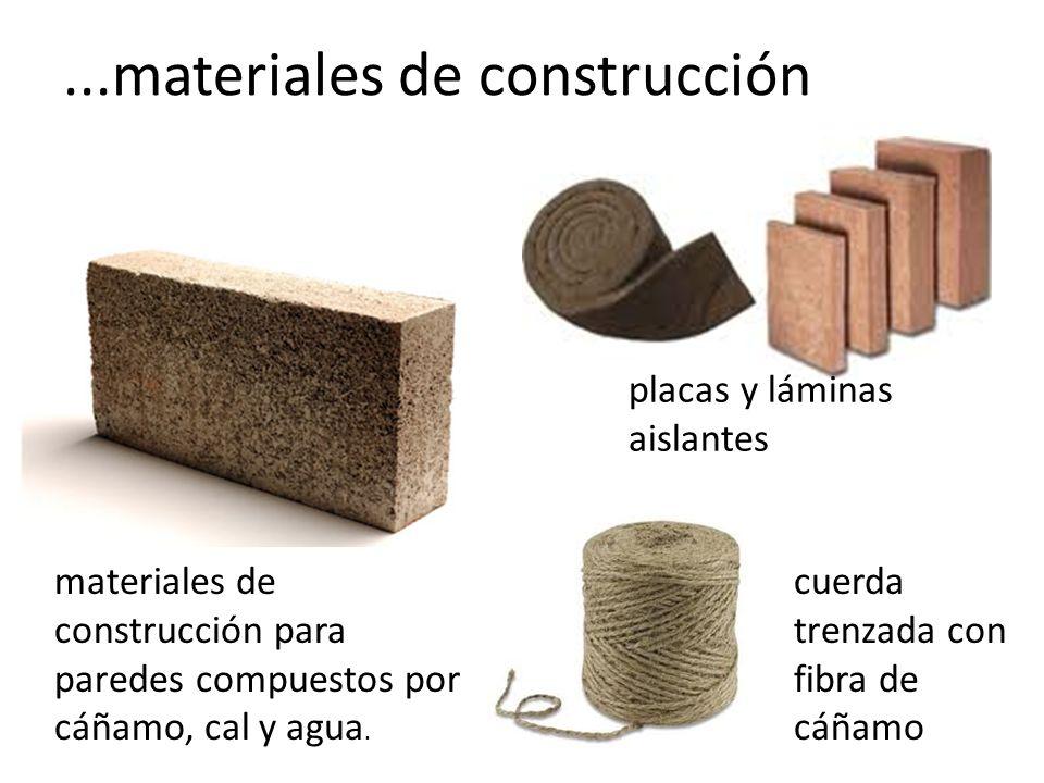 ...materiales de construcción