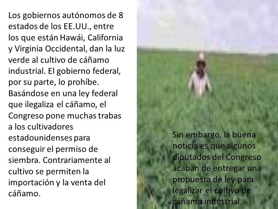 Los gobiernos autónomos de 8 estados de los EE. UU