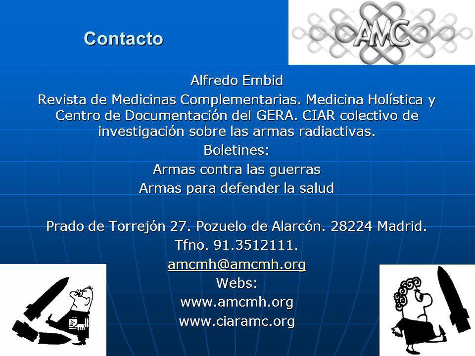 Contacto Alfredo Embid
