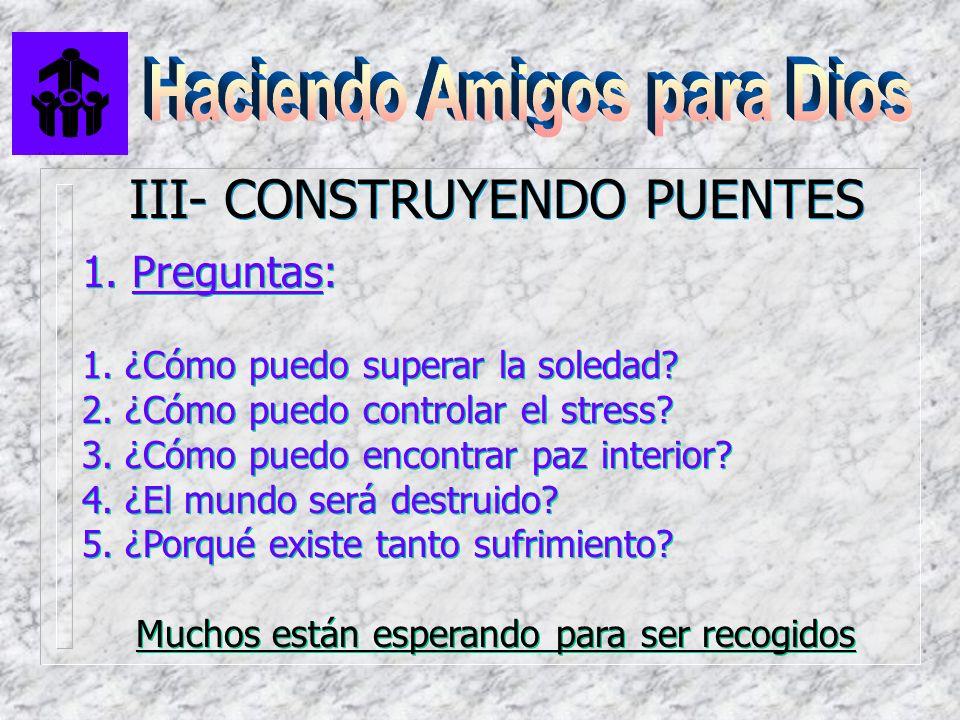 III- CONSTRUYENDO PUENTES