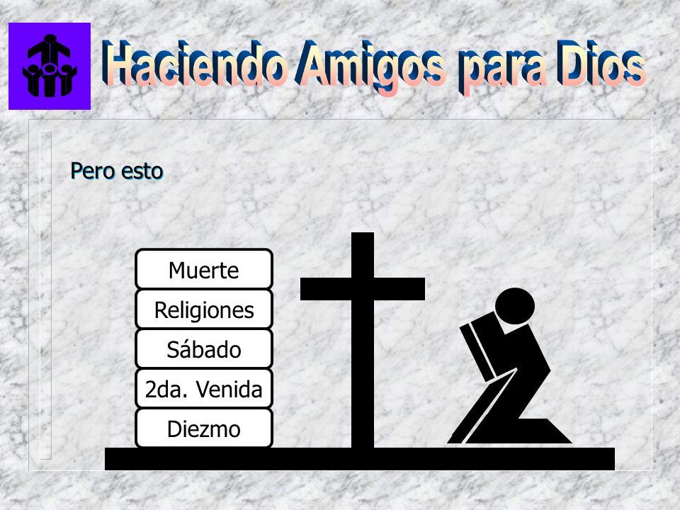 Pero esto Muerte Religiones Sábado 2da. Venida Diezmo