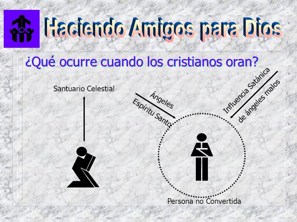 ¿Qué ocurre cuando los cristianos oran