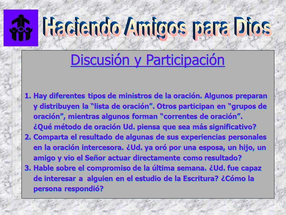 Discusión y Participación
