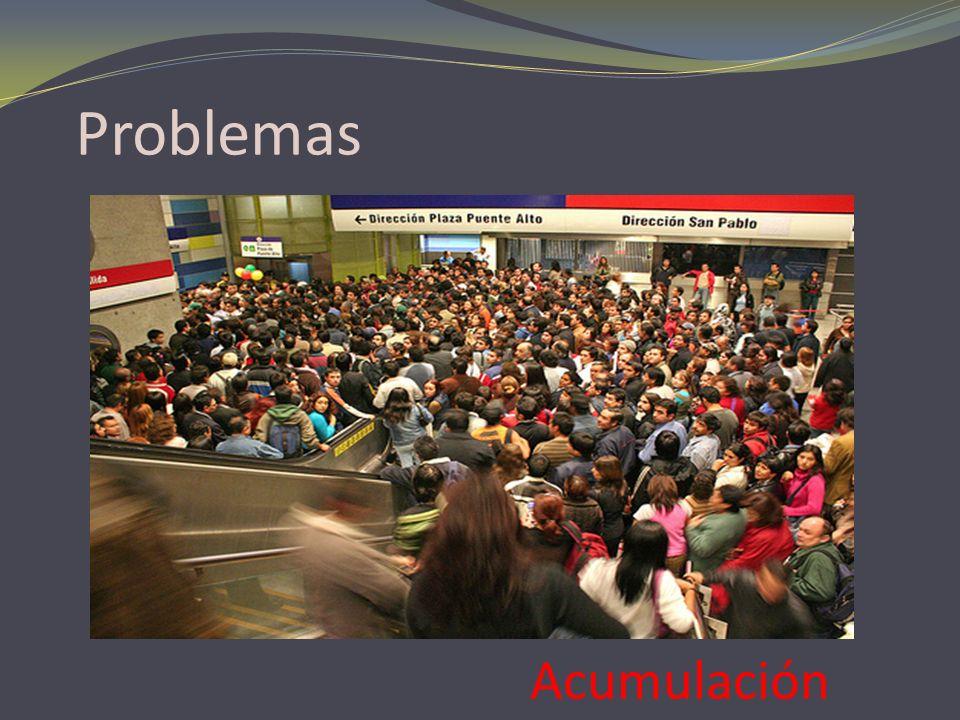 Problemas Acumulación