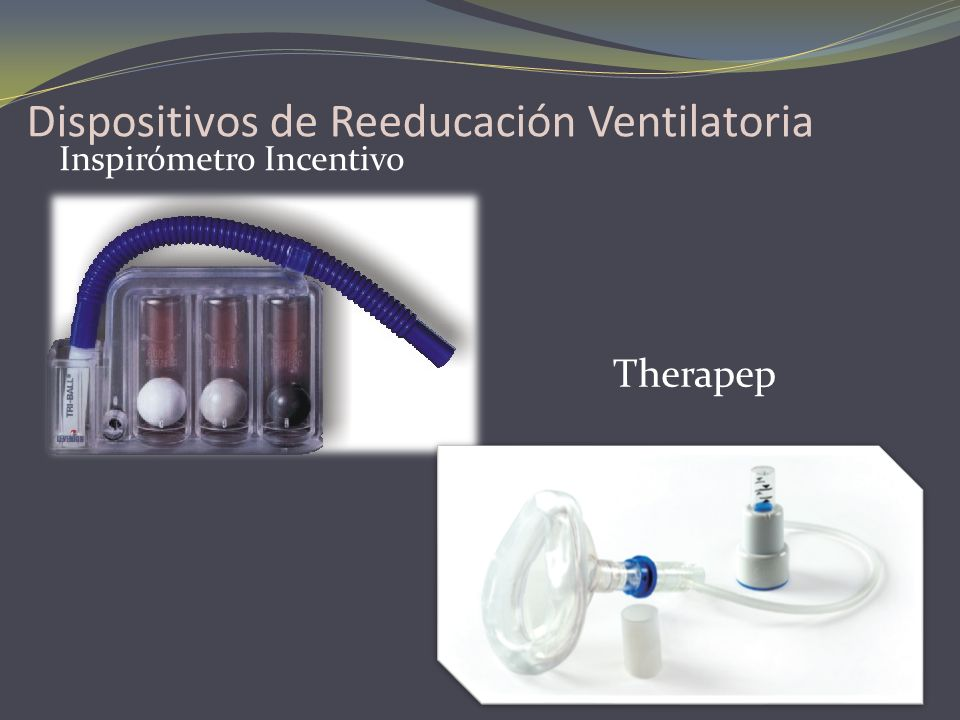Dispositivos de Reeducación Ventilatoria