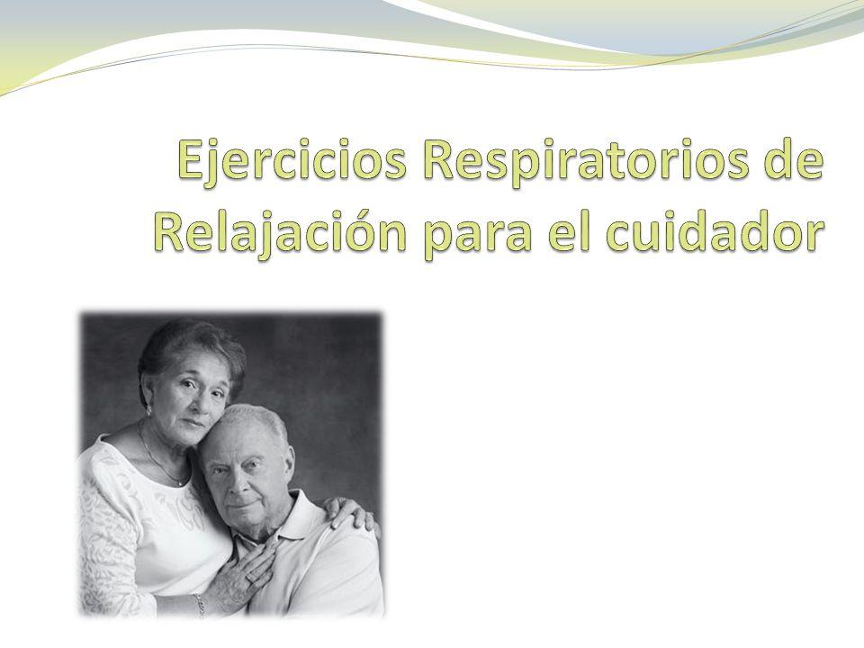 Ejercicios Respiratorios de Relajación para el cuidador