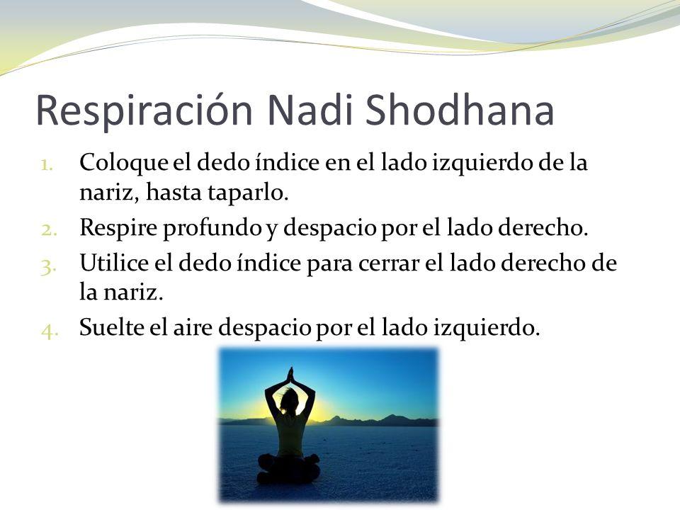 Respiración Nadi Shodhana
