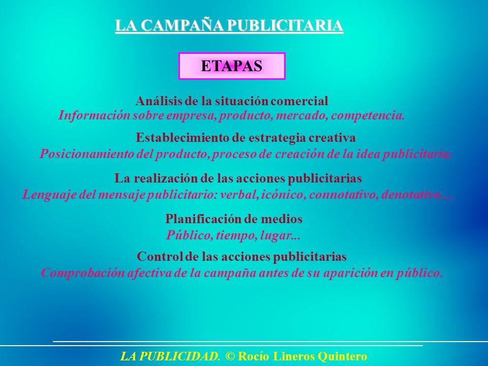 LA CAMPAÑA PUBLICITARIA