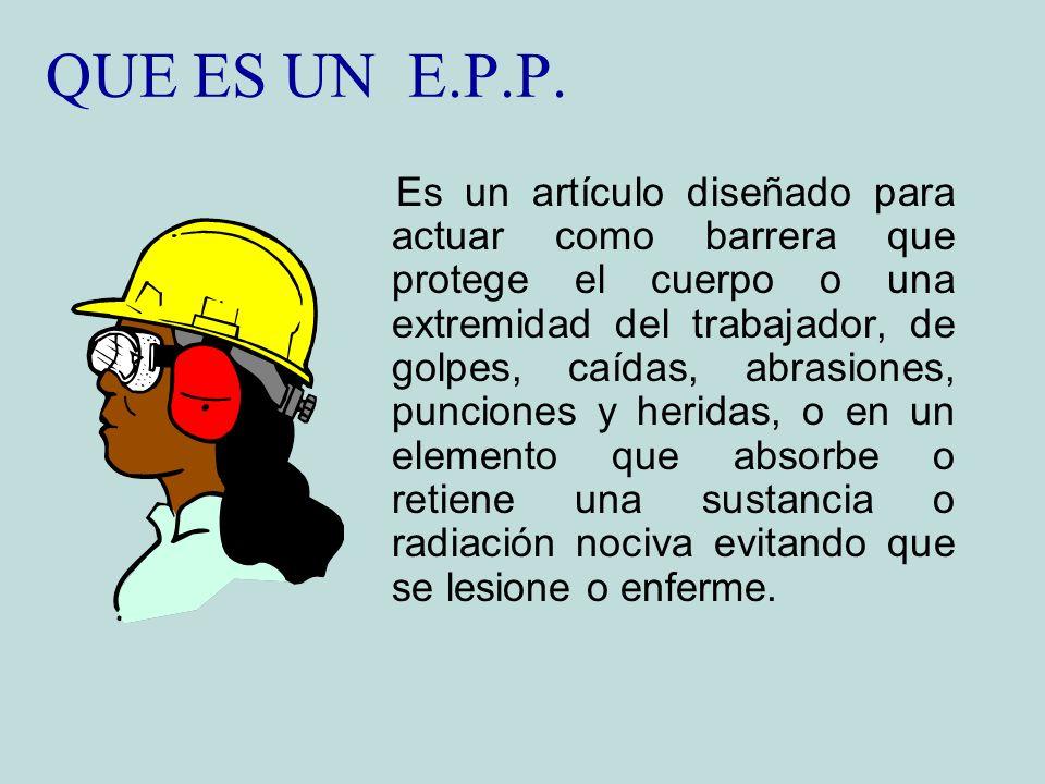 QUE ES UN E.P.P.