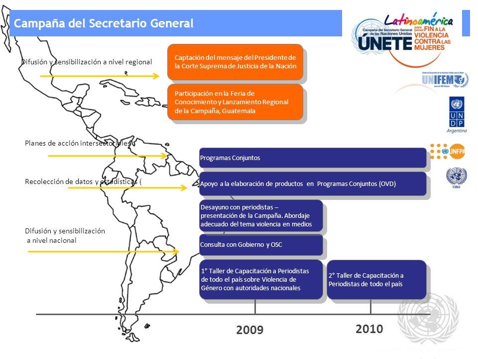 2009 2010 Campaña del Secretario General