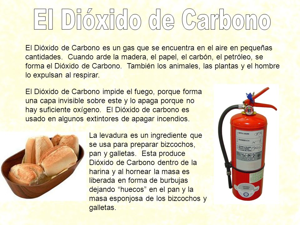 El Dióxido de Carbono