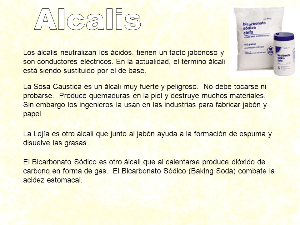 Alcalis