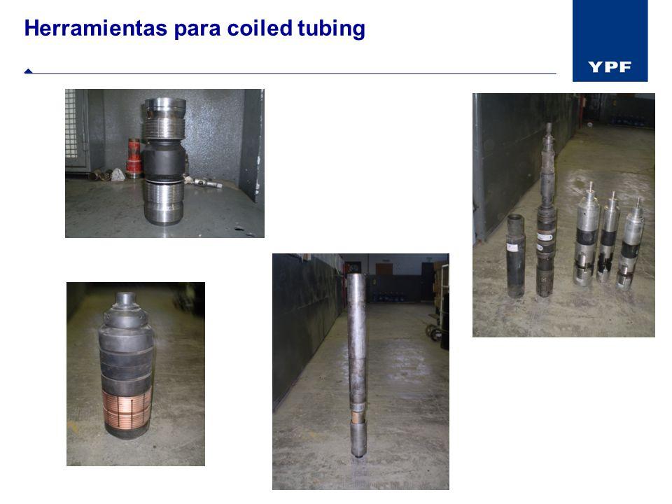 Herramientas para coiled tubing
