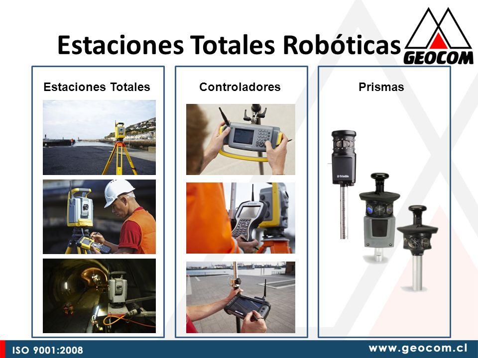 Estaciones Totales Robóticas