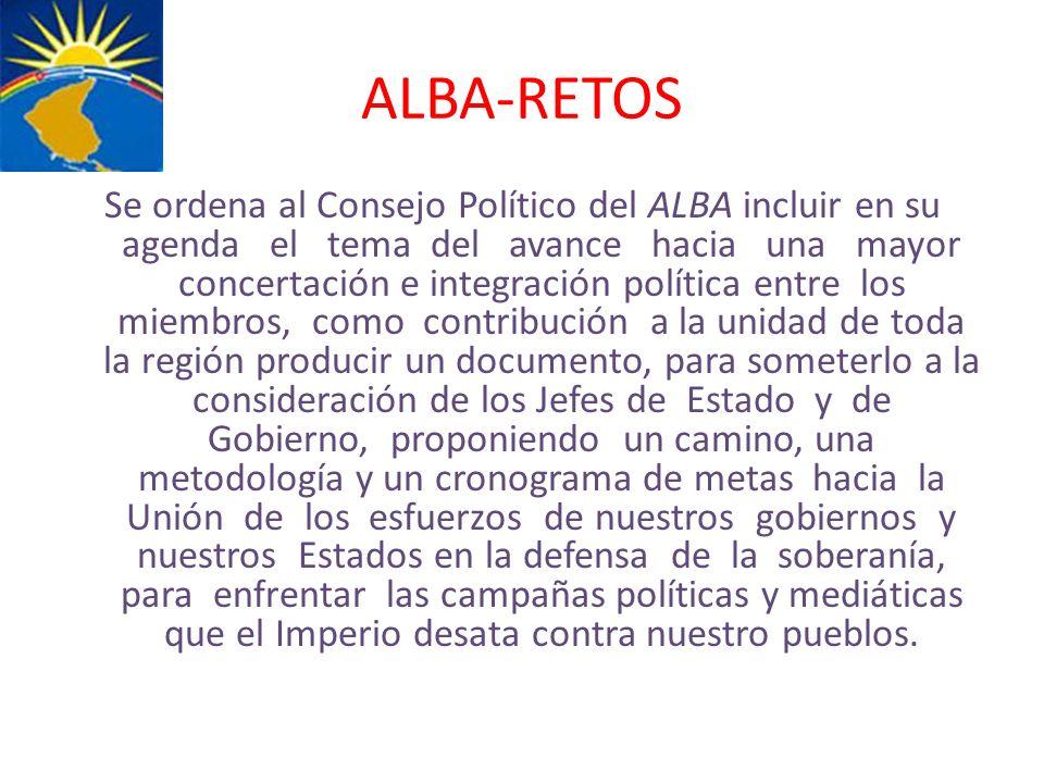 ALBA-RETOS