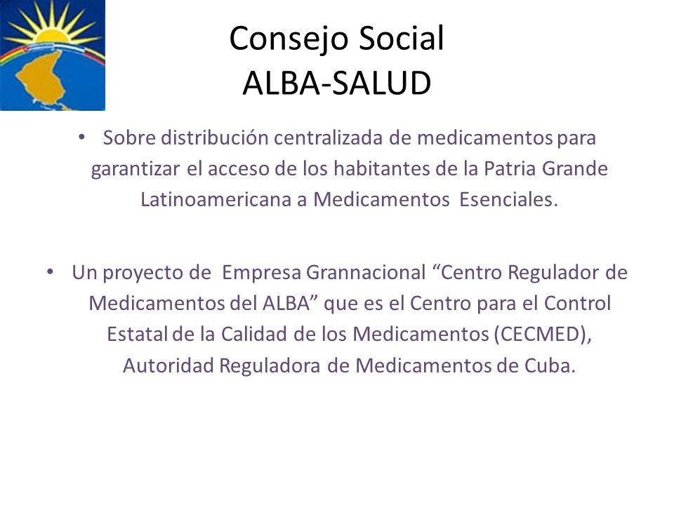 Consejo Social ALBA-SALUD
