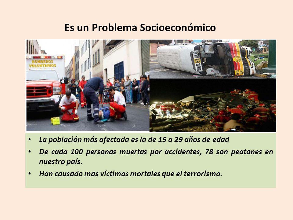 Es un Problema Socioeconómico