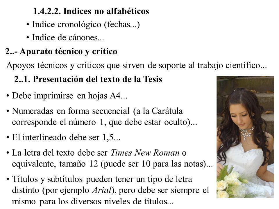 1.4.2.2. Indices no alfabéticos