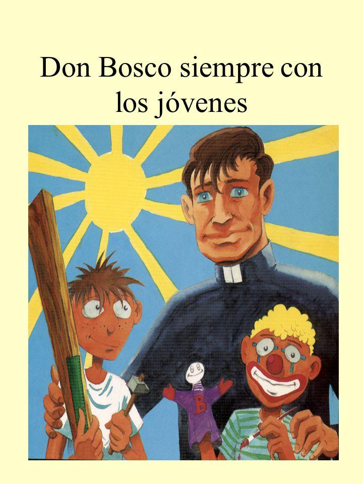 Don Bosco siempre con los jóvenes